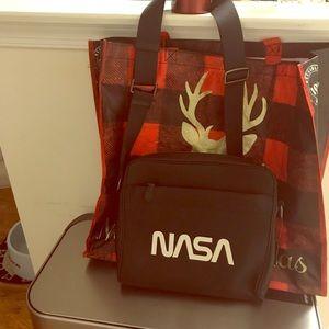 Coach NASA medium laptop bag, new